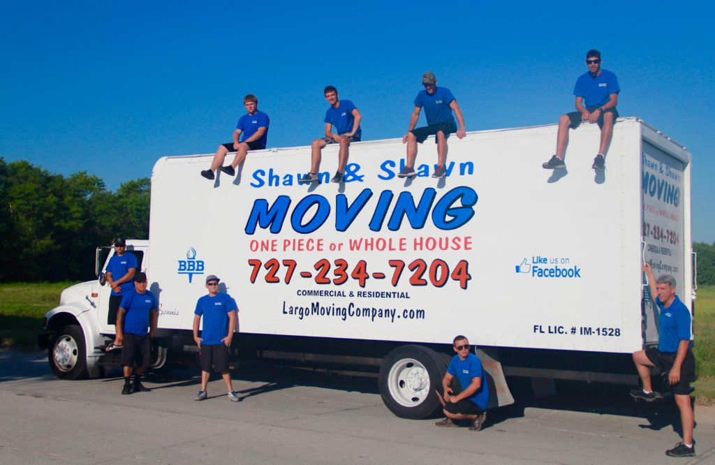 Largo Movers | Shawn & Shawn Moving company | Largo, Florida